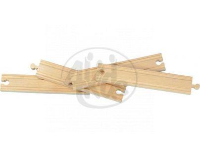 MAXIM 50903 - Koleje rovné 20cm (4 kusy)