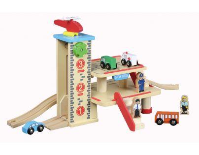 MAXIM 50421 - Nádraží s garaží a výtahem