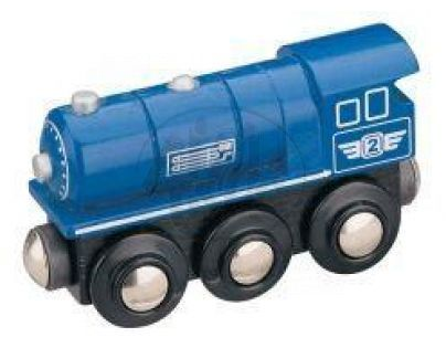 MAXIM 50813 - Parní lokomotiva - modrá