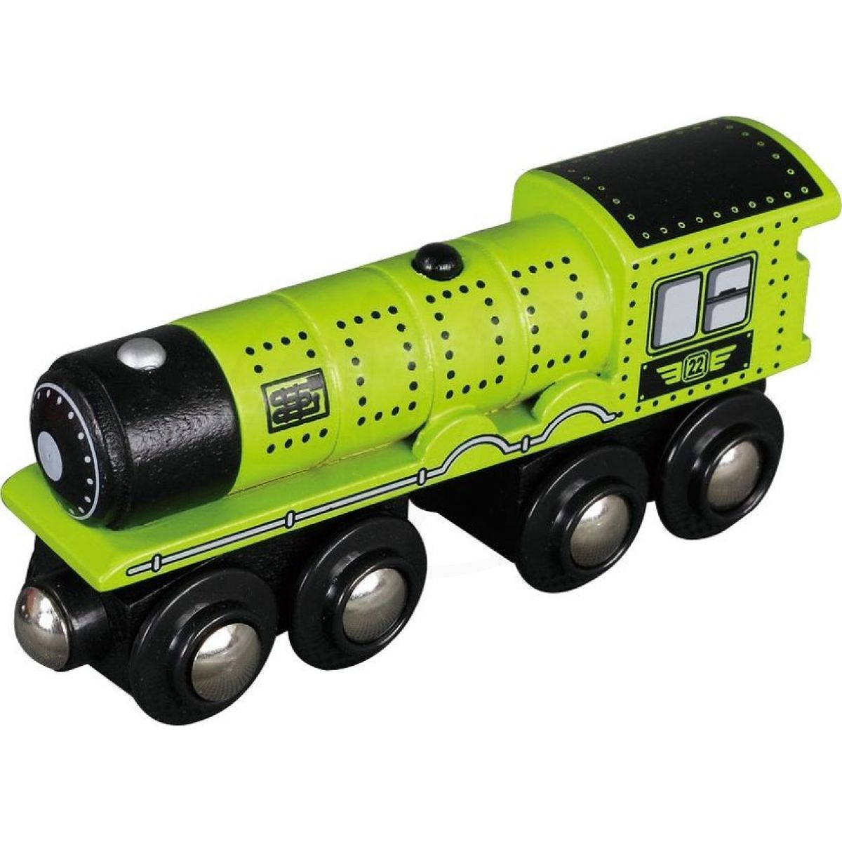 Maxim 50486 - Parní lokomotiva - zelená