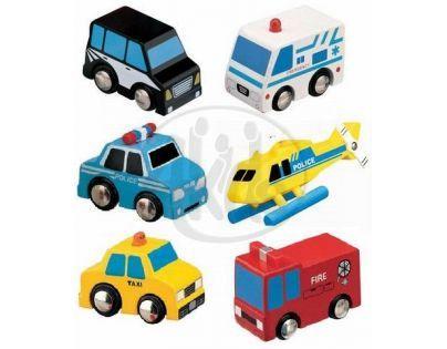 MAXIM 50419 - Záchranářská auta 6 ks