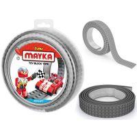 Mayka stavebnicová páska velká 2 m šedá