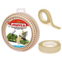 Mayka stavebnicová páska velká 2 m světle hnědá