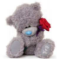 Me to you - Medvídek s růží 25 cm 2