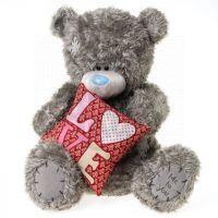 Me to you - Medvídek s polštářkem LOVE 50 cm
