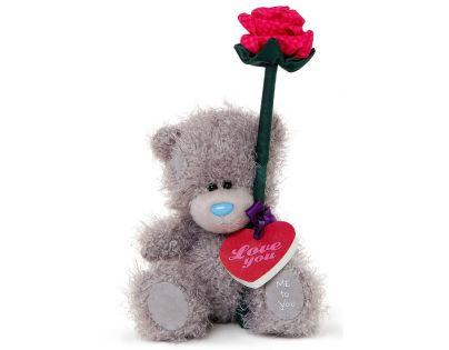 Me to you - Medvídek s růží v dárkové krabičce