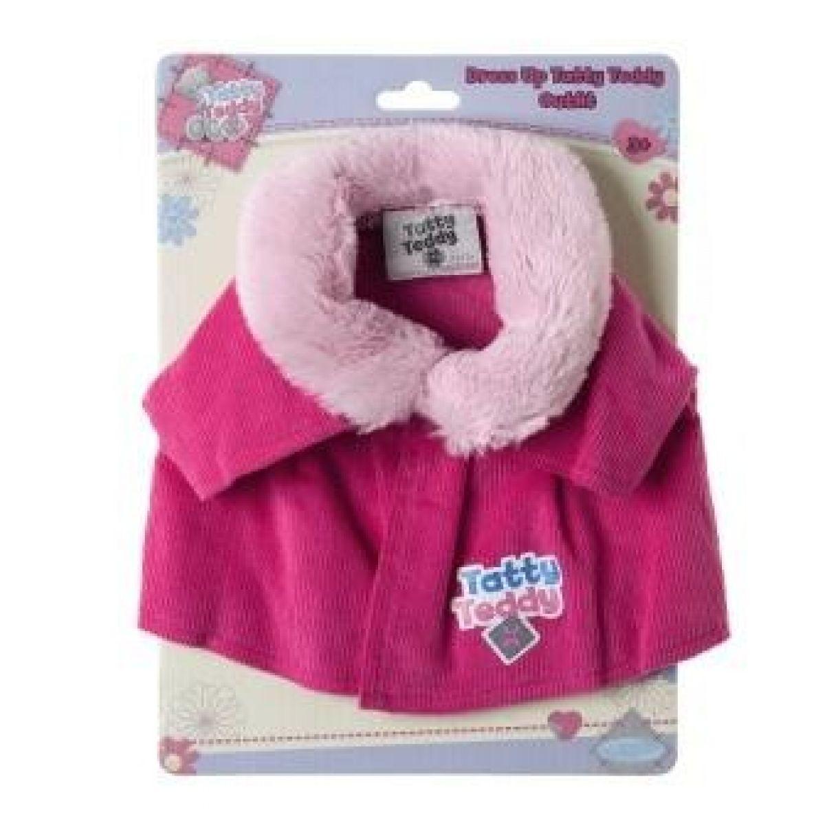 Me to you Tatty Teddy Růžový kabátek