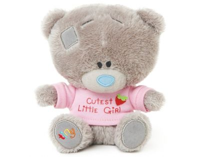 Me to you - Tiny Tatty Teddy - Medvídek v růžovém tričku 11,5 cm