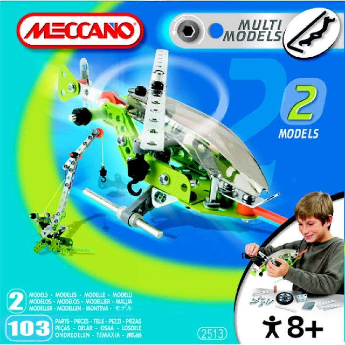 Meccano Helikoptéra MM2