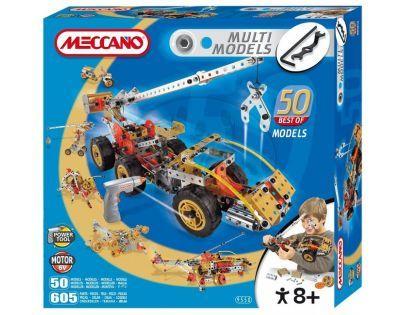 Meccano stavebnice Multimodels50 605 dílků