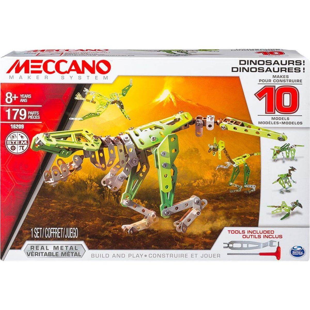 Meccano Stavebnice 10v1 Dinosauři