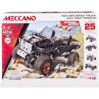 Meccano Stavebnice 25v1 Off-Road Truck 4x4