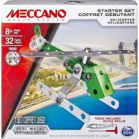 Meccano Stavebnice 4v1 Startovací set Helikoptéra