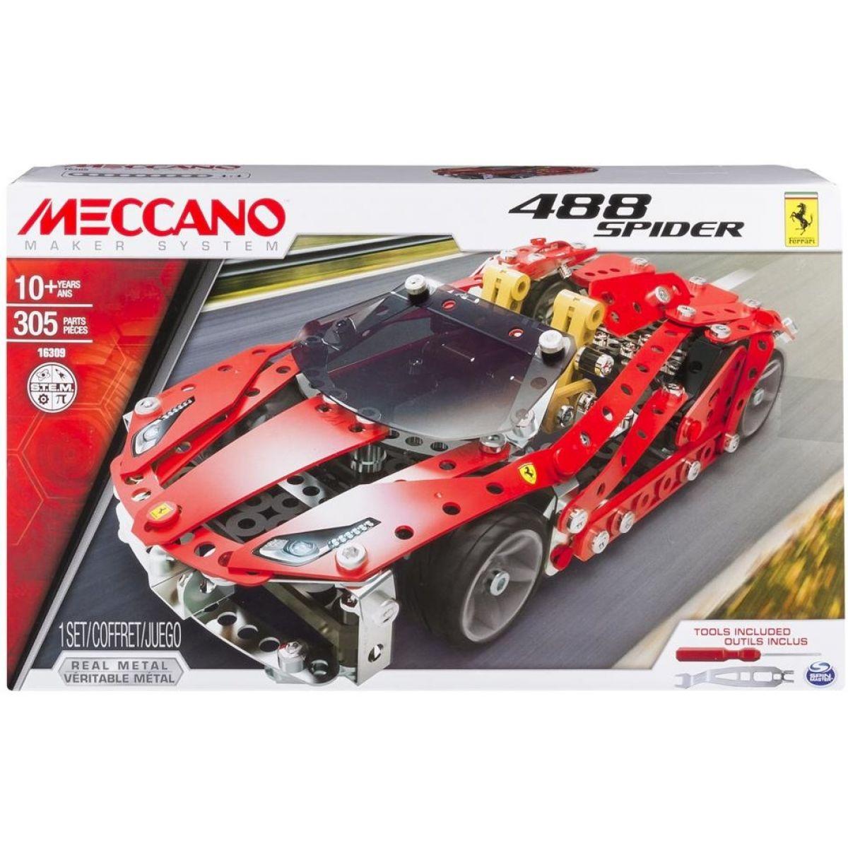 Meccano Stavebnice Ferrari 488 Spider