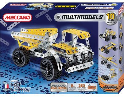Meccano stavebnice Multimodels 10