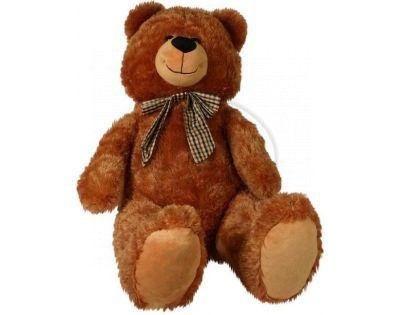 Rappa Medvěd Edmont plyšový 100cm - Tmavá