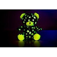 Medvídek svítící ve tmě Šedozelený 2