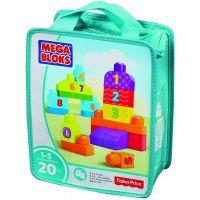 Mega Bloks First Builders kostky pro malého stavitele Čísla