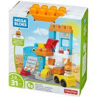 Mega Bloks herní set pojď si hrát Pracovní stanoviště