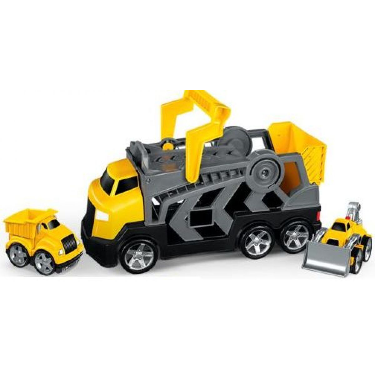 MEGABLOKS 00652 - Constructor s nákladním autem a bagrem CAT