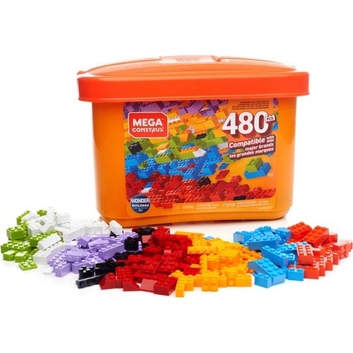 Mega Construx Základný box 480 kociek