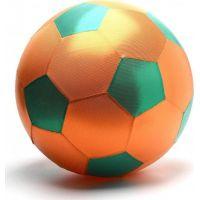 Mac Toys Mega míč textilní lesklý oranžovozelený