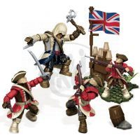 Megabloks Assassin's Creed bojový prapor - American Revolution Pack 2