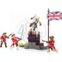 Megabloks Assassin's Creed bojový prapor - American Revolution Pack 5
