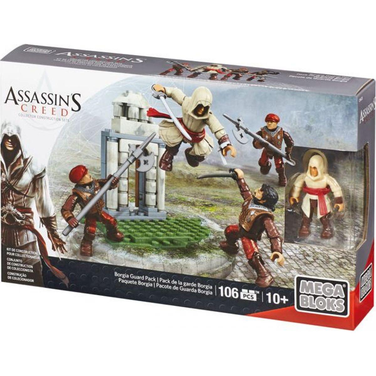 Megabloks Assassin's Creed bojový prapor - Borgia Guard Pack