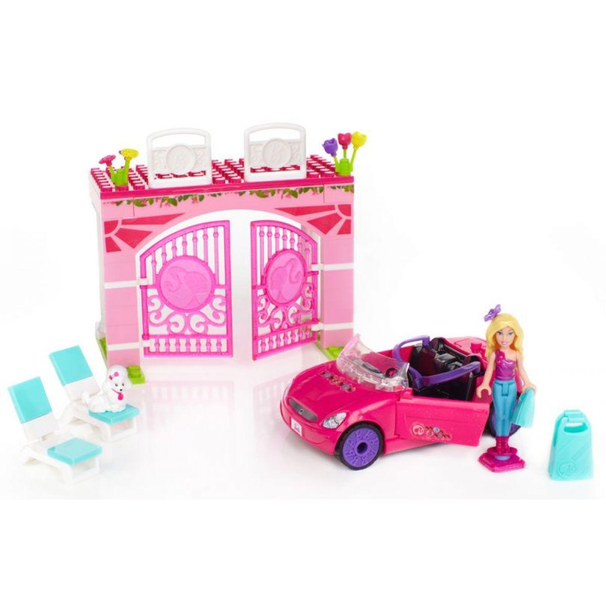 MEGABLOKS Micro 80223U - Barbie na cestách ve svém autě