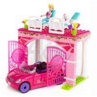 MEGABLOKS Micro 80223U - Barbie na cestách ve svém autě 2