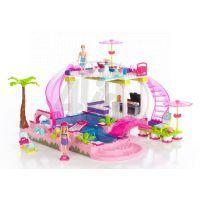 MEGABLOKS Micro 80228U - Barbie na party u bazénu 2