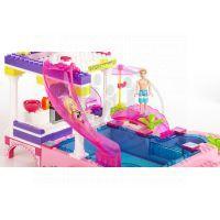 MEGABLOKS Micro 80228U - Barbie na party u bazénu 3
