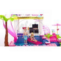 MEGABLOKS Micro 80228U - Barbie na party u bazénu 5
