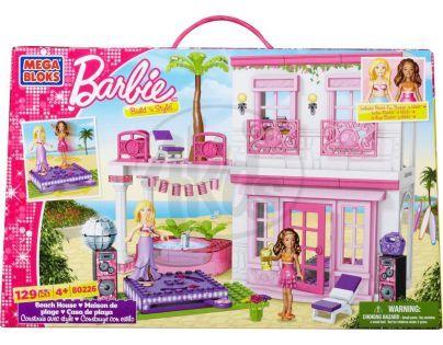MEGABLOKS Micro 80226U - Barbie ve svém plážovém domě