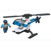 MEGABLOKS BLOK SQUAD Policejní helikoptéra