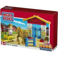 Megabloks Blok Town Stáj pro koně