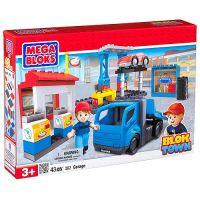 Megabloks Blok Town Velký hrací set s čerpací stanicí a servisem
