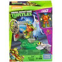MegaBloks Želvy Ninja Trénink v doupěti - Leo Pizza Fury