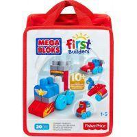 Megabloks First Builders autíčka 20 dílků