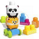 Megabloks First Builders jezdící zvířátka - Panda a Tygr 2