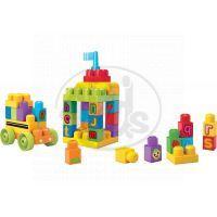 Megabloks First Builders školní ABC 44 dílků 2