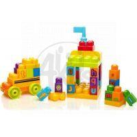 Megabloks First Builders školní ABC 44 dílků 4