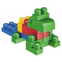MEGABLOKS 08416 - Kostky v plastovém pytli, 60dílů 3