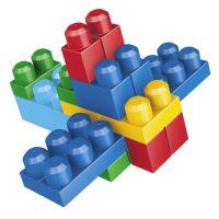 MEGABLOKS 08416 - Kostky v plastovém pytli, 60dílů 4