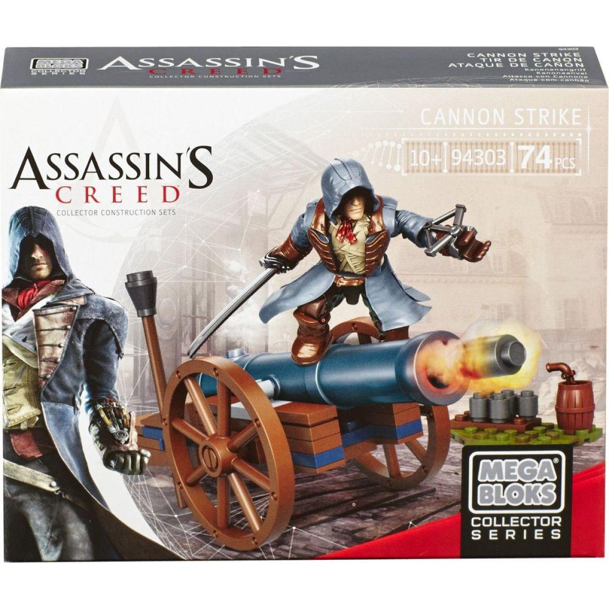 Megabloks Assassin's Creed válečný stroj - Cannon Strike
