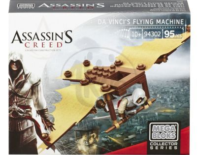 Megabloks Assassin's Creed válečný stroj - Da Vinci's Flying Machine