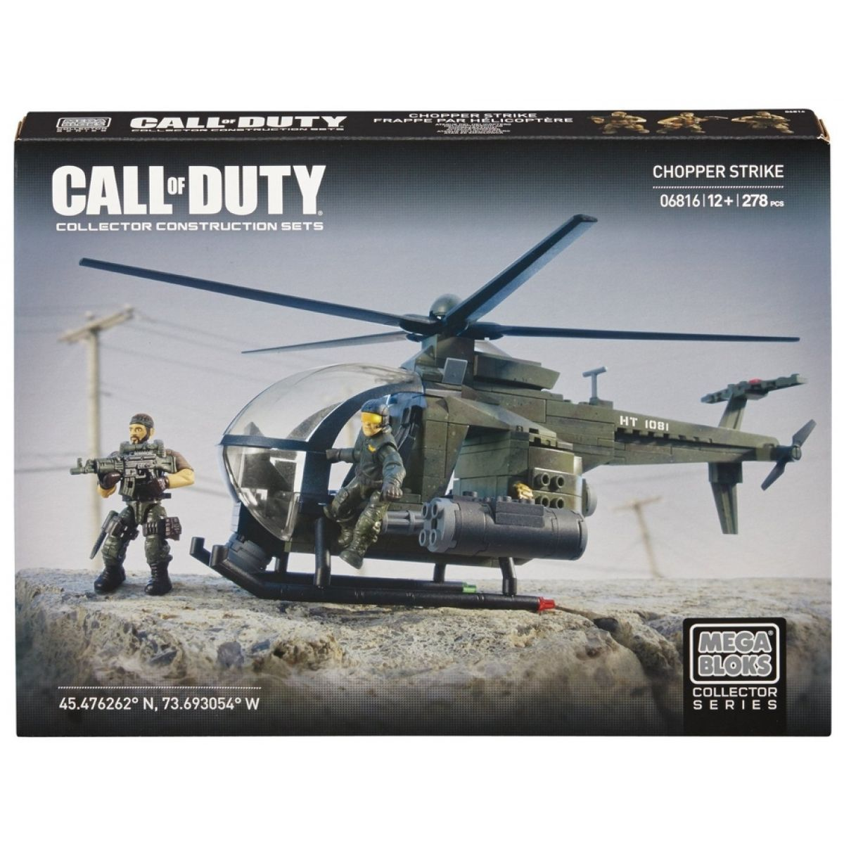MEGABLOKS 06816 - Micro - Call of Duty - Helikoptéra