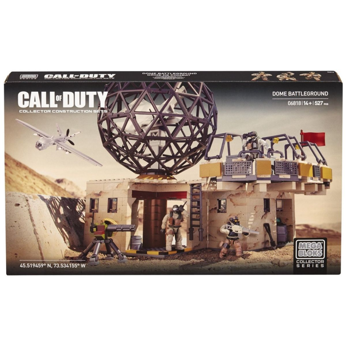 MEGABLOKS 06818 - Micro - Call of Duty - Tajná vojenská základna