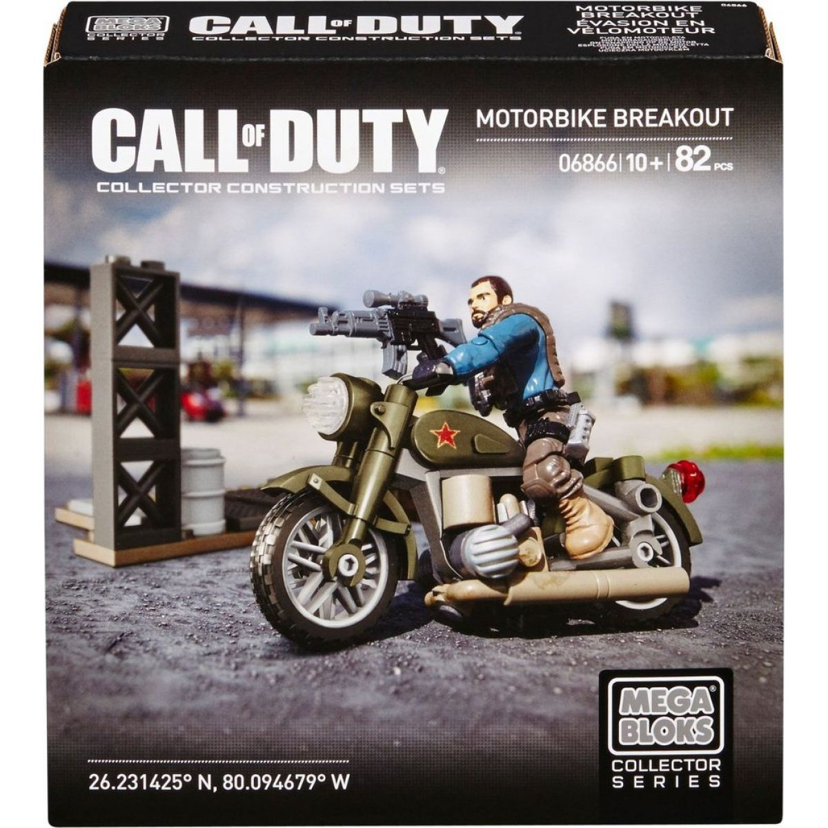 Megabloks Micro Call of Duty útok - Motorbike Breakout